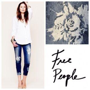 Free People Magnolia Ankle Skinny Jeans